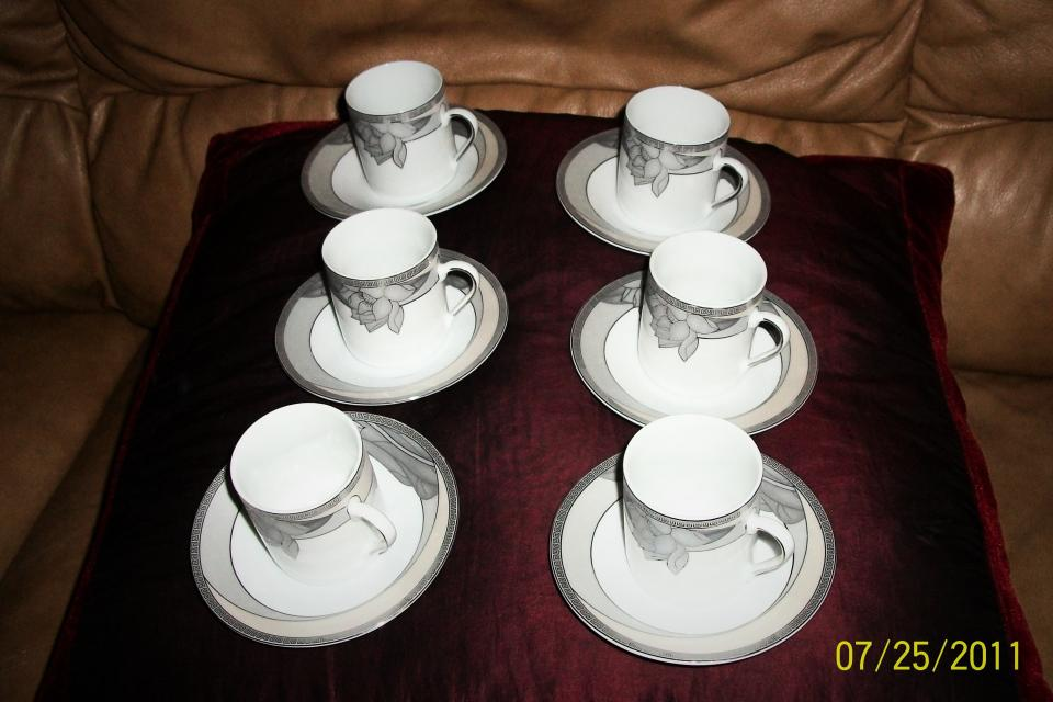 Fine Porcelain: 6 coffee sets  Large Photo