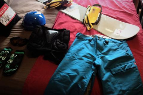 Snowboard Gear Photo