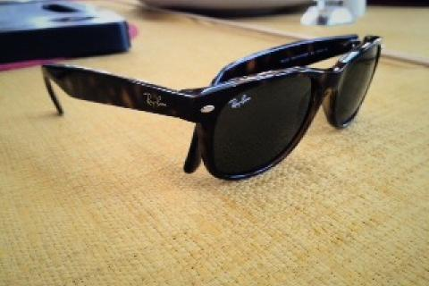 ray ban tortis shell sunglasses  Photo