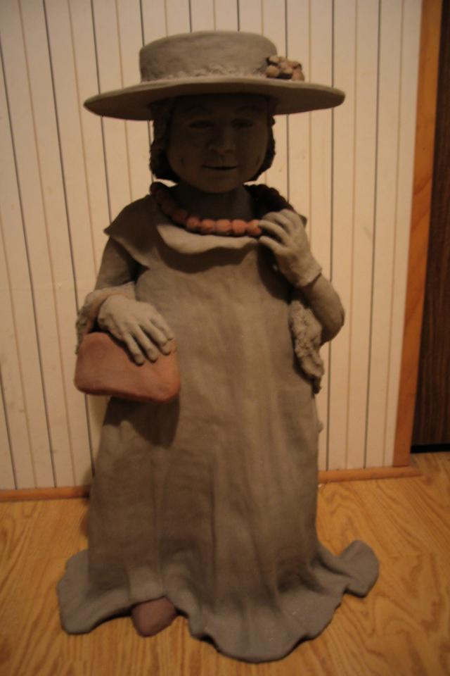 Sculpture of a child Photo
