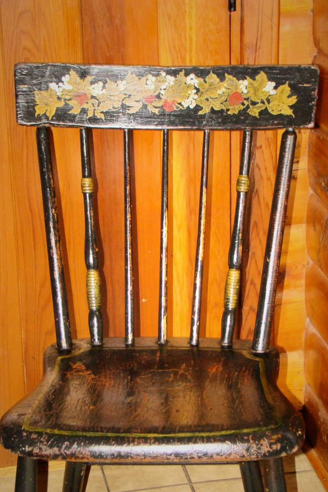1800s Maple Hitchcock Chair, Collectors Alert! Photo