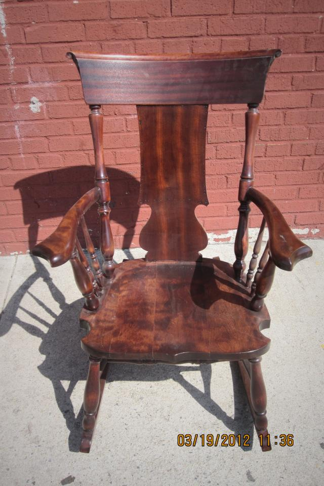Refinished rocking chair Large Photo