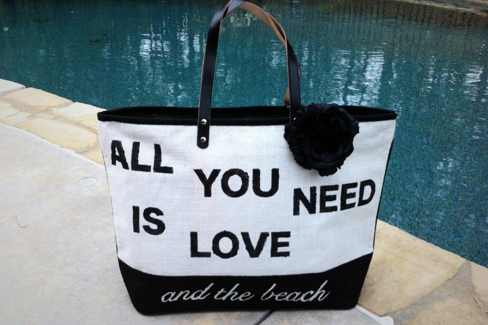 Beach Bag / Day Trip Tote Large Photo