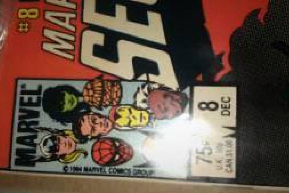 #8 secret wars marvel comic mint Large Photo