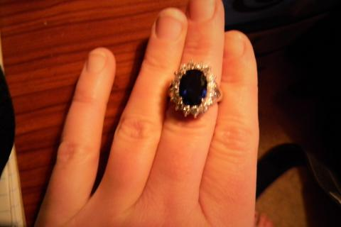KATE MIDDLETON'S ENGAGEMENT RING (REPLICA) Photo