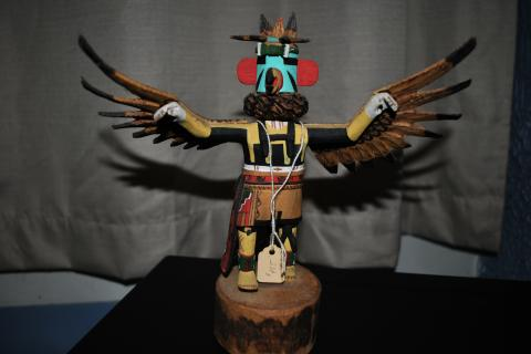 eagle kachina doll very detailed Photo