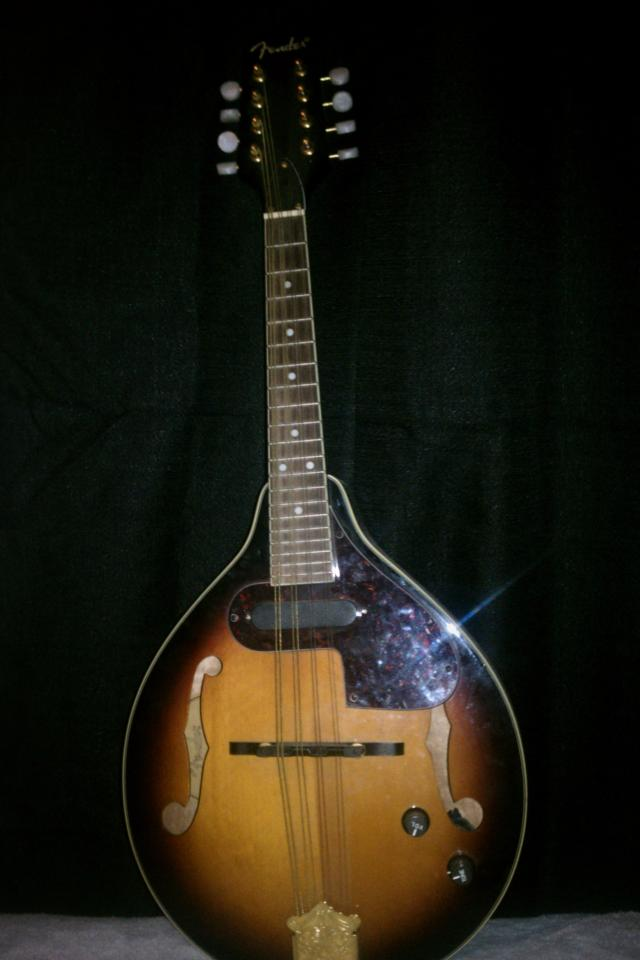 Fender Acoustic Electric Mandolin Large Photo