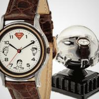 "1993 Fossil, ""The Return of Superman; Lois and Clark Together Again"" limited edition watch and pin set #3308/15000 Photo"