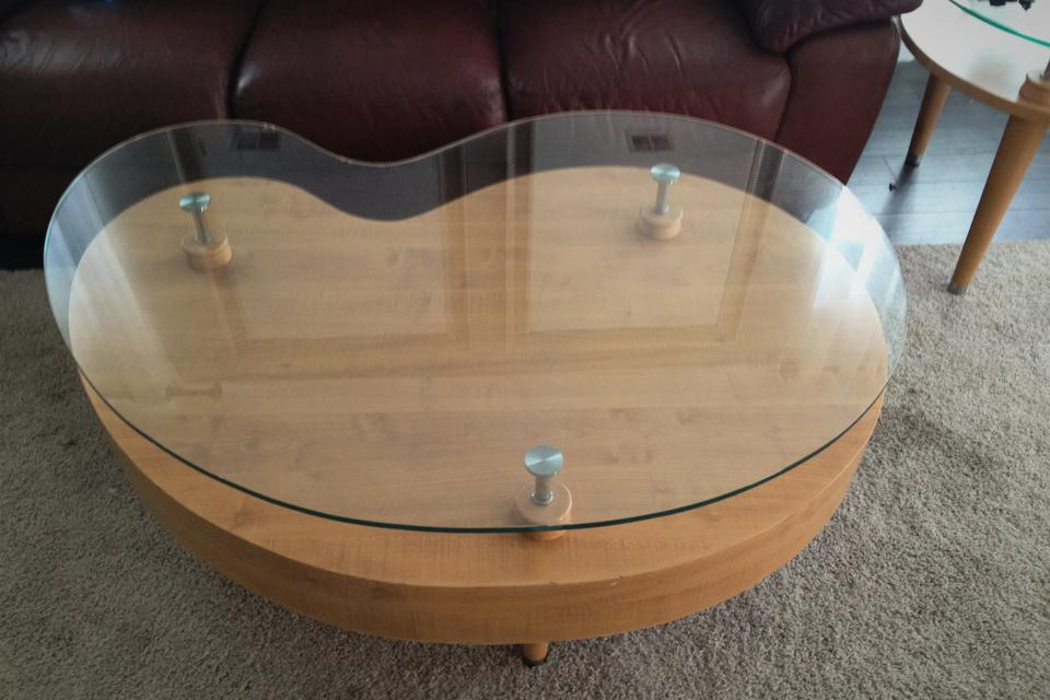 Unique modern coffee table / side tables Large Photo