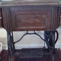 Treadle Sewing Machine Photo