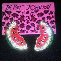 Watermelon Earrings Photo