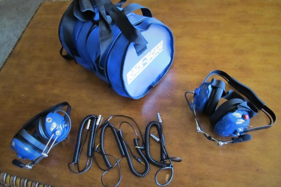 NASCAR Race-Scan H8110 Headsets Large Photo