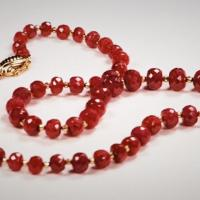 Ruby Necklace Photo