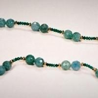 Aquamarine Necklace Photo