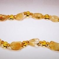 Citrine Necklace Photo