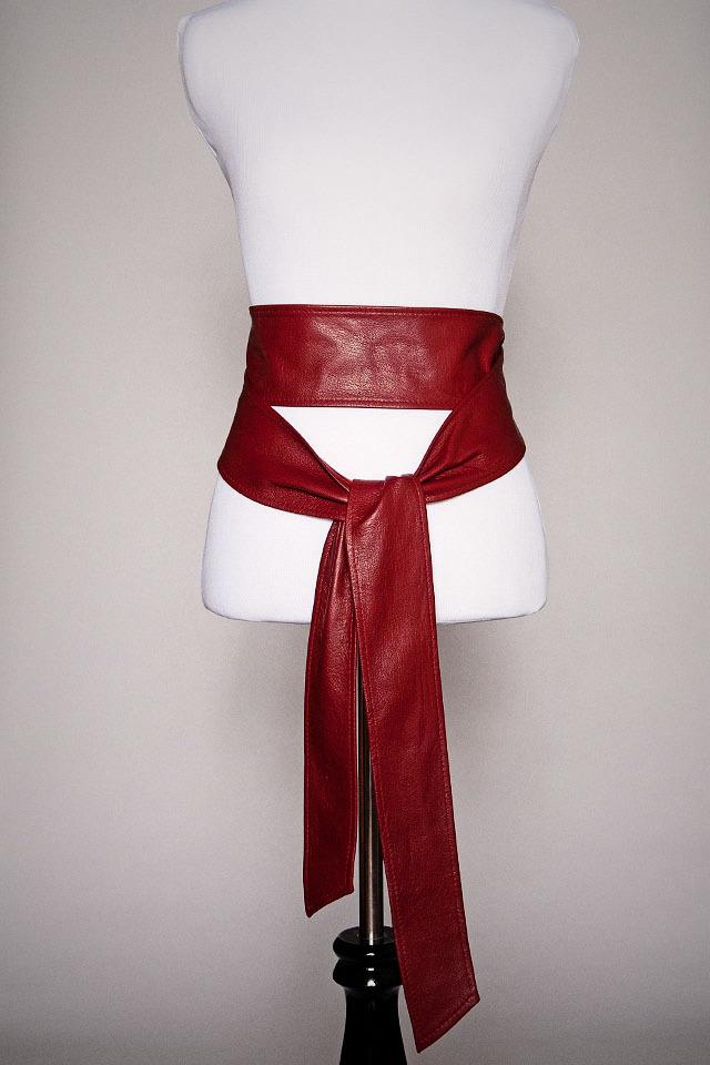 Red Wrap Belt Photo
