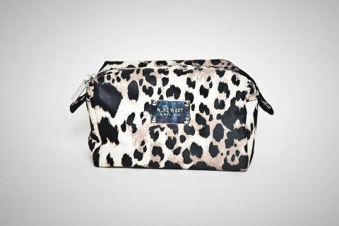 Nine West Leopard Print Cosmetic Bag  Photo