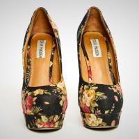 Steve Madden Floral Pumps Photo