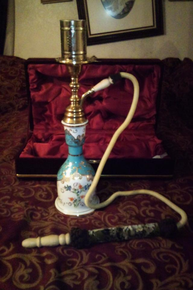 Kutahya Porcelen Hookah Photo