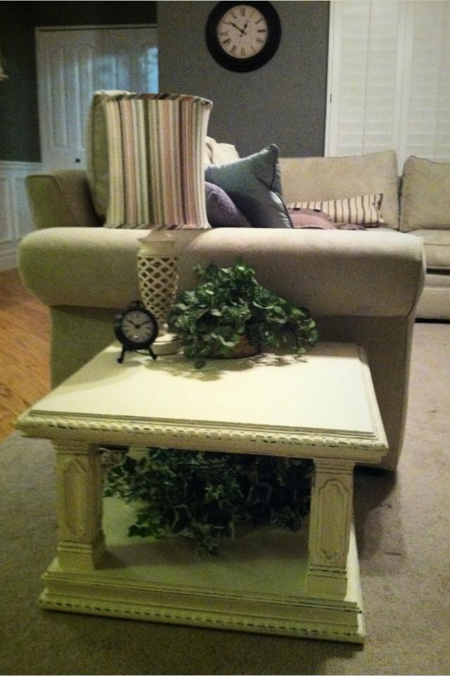 One of a Kind Shabby Chic Table Photo