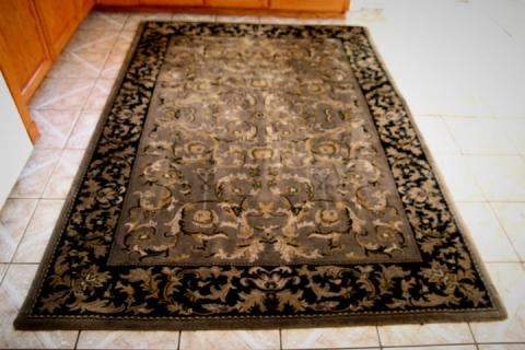 Wool Rug Fluffy and Plush  Photo