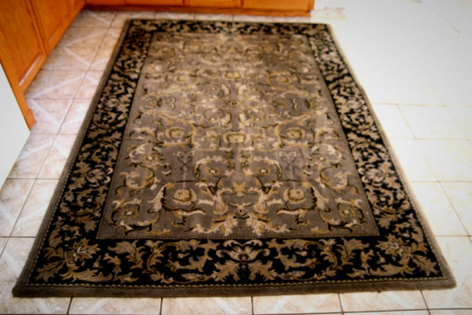 Wool Rug Fluffy and Plush  Large Photo