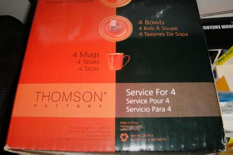 Thomson 16Pc Dinnerware set Photo