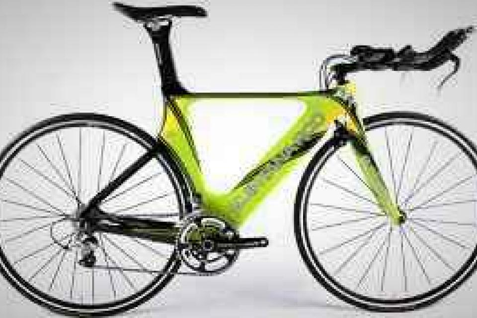 Quintana Roo Cd 0.1 Ultegra Triathlon Bike Green Small -49cm Large Photo