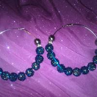 Basketball Wives Earrings (blue) Photo