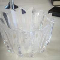 Orrefors crystal candy dish Photo