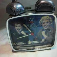 I Love Lucy FRIENDS FOREVER Twin Bell Alarm Clock.  Photo