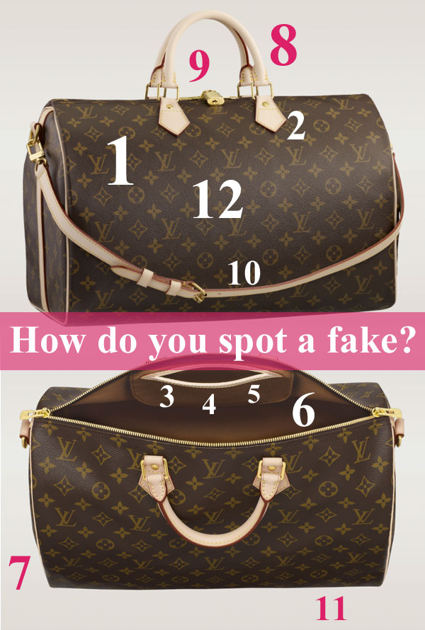How to Spot a Fake Louis Vuitton Handbag